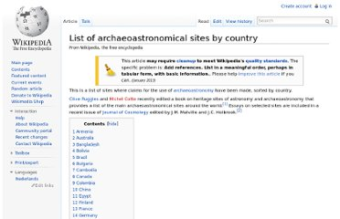 http://en.wikipedia.org/wiki/List_of_archaeoastronomical_sites_by_country