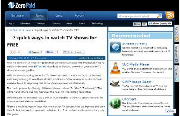 http://www.zeropaid.com/news/8455/3_quick_ways_to_watch_tv_shows_for_free/