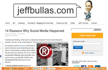 http://www.jeffbullas.com/2010/04/20/14-reasons-why-social-media-happened/