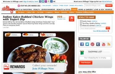 http://www.ivillage.com/indian-spice-rubbed-chicken-wings-yogurt-dip/3-r-74949
