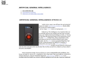 http://www.thenanoage.com/artificial-general-intelligence.htm
