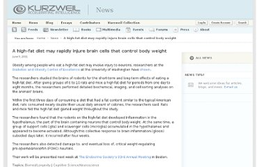 http://www.kurzweilai.net/a-high-fat-diet-may-rapidly-injure-brain-cells-that-control-body-weight