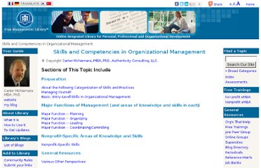 http://managementhelp.org/management/skills.htm