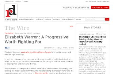 http://www.religiondispatches.org/wire/5112/elizabeth_warren:_a_progressive_worth_fighting_for/
