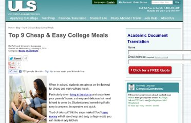 http://www.universitylanguage.com/blog/06/easy-college-meals/