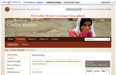http://www.conflictmonitors.org/countries/afghanistan/daily-briefing/