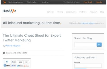 http://blog.hubspot.com/blog/tabid/6307/bid/25084/The-Ultimate-Cheat-Sheet-for-Expert-Twitter-Marketing.aspx