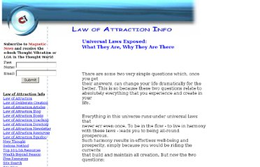 http://www.law-of-attraction-info.com/universal.html