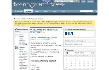 http://www.teenagewriters.com/forum/
