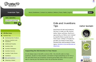 http://invention.lifetips.com/cat/64059/kids-and-inventions/index.html