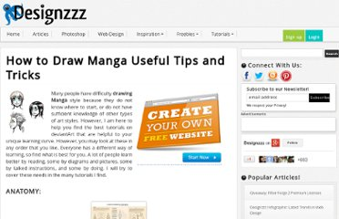 http://www.designzzz.com/how-to-draw-manga-useful-tips-and-tricks/