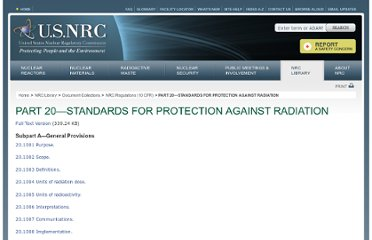 http://www.nrc.gov/reading-rm/doc-collections/cfr/part020/