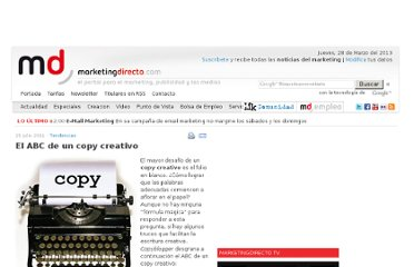 http://www.marketingdirecto.com/actualidad/tendencias/el-abc-de-un-copy-creativo/