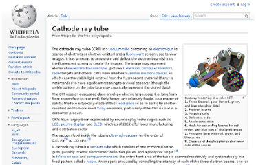 http://en.wikipedia.org/wiki/Cathode_ray_tube