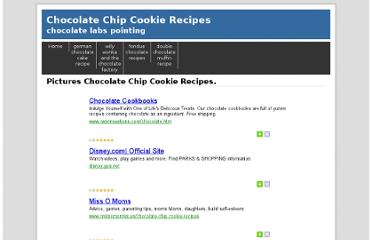 http://chocolate.leehoan.com/chocolate-chip-cookie-recipes.html