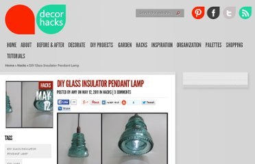 http://decorhacks.com/2011/05/diy-glass-insulator-pendant-lamp/