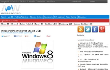 http://www.accessoweb.com/Installer-Windows-8-avec-une-cle-USB_a9852.html
