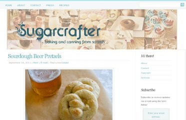 http://sugarcrafter.net/2011/09/14/sourdough-beer-pretzels/