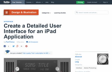 http://psd.tutsplus.com/tutorials/interface-tutorials/user-interface-ipad-app/