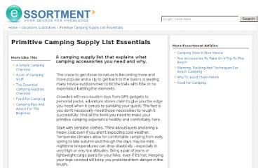 http://www.essortment.com/primitive-camping-supply-list-essentials-31450.html