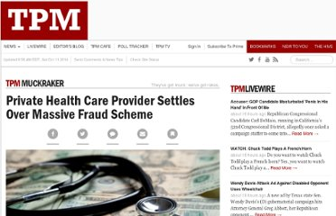 http://tpmmuckraker.talkingpointsmemo.com/2011/09/private_health_care_provider_settles_over_massive.php