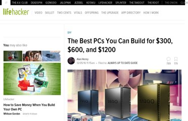 http://lifehacker.com/5840963/the-best-pcs-you-can-build-for-600-and-1200