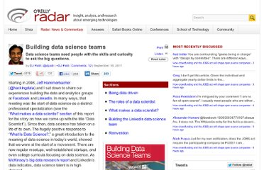 http://radar.oreilly.com/2011/09/building-data-science-teams.html