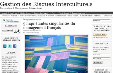 http://gestion-des-risques-interculturels.com/risques/5-inquietantes-singularites-du-management-francais/