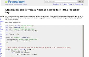 http://efreedom.com/Question/1-3955103/Streaming-Audio-Nodejs-Server-HTML5-Audio-Tag