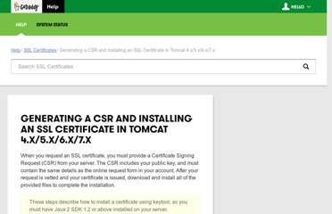 http://community.godaddy.com/help/article/5239/installing-an-ssl-certificate-in-tomcat-4x5x6x