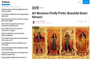 http://io9.com/5821107/art-nouveau-firefly-prints-beautiful-damn-heroes/gallery/