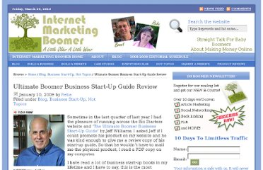 http://www.internetmarketingboomer.com/hot-topics/ultimate-boomer-business-start-up-guide-review/