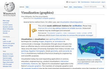 http://en.wikipedia.org/wiki/Visualization_%28computer_graphics%29