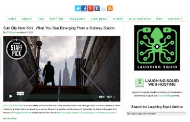 http://laughingsquid.com/sub-city-new-york-what-you-see-when-you-emerge-from-a-subway/