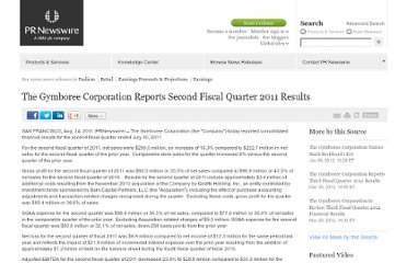 http://www.prnewswire.com/news-releases/the-gymboree-corporation-reports-second-fiscal-quarter-2011-results-128335788.html