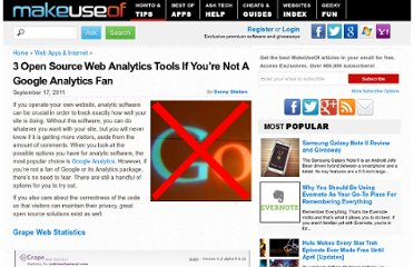 http://www.makeuseof.com/tag/3-open-source-web-analytics-tools-google-analytics-fan/