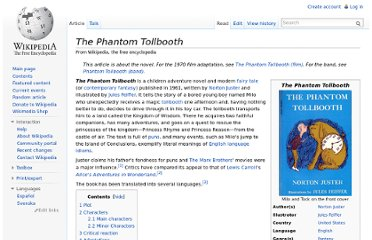 http://en.wikipedia.org/wiki/The_Phantom_Tollbooth