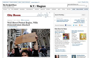 http://cityroom.blogs.nytimes.com/2011/09/17/wall-street-protest-begins-with-demonstrators-blocked/