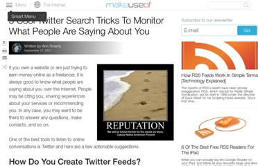 http://www.makeuseof.com/tag/5-cool-twitter-search-tricks-monitor-people/