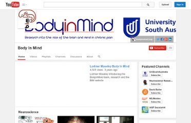 http://www.youtube.com/user/BodyInMind1