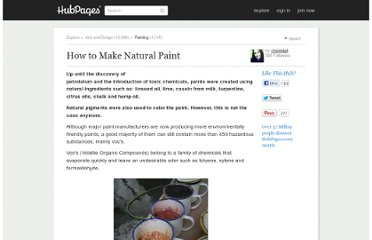 http://chantelg4.hubpages.com/hub/How-to-Make-Natural-Paint