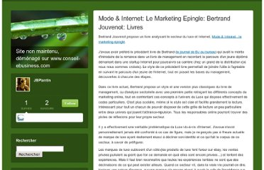 http://jbp.typepad.com/jb/2010/01/mode-internet-le-marketing-epingle-bertrand-jouvenot-livres.html