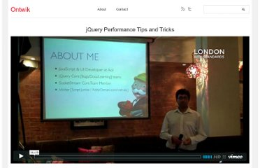 http://ontwik.com/javascript/jquery-performance-tips-and-tricks/