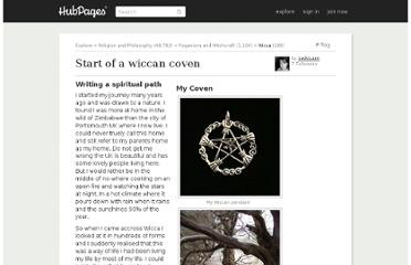 http://ladyluan.hubpages.com/hub/Start-of-a-wiccan-coven