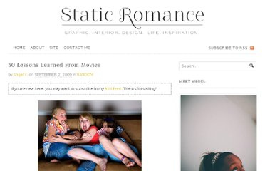 http://static-romance.org/2009/random/50-lessons-learned-from-movies