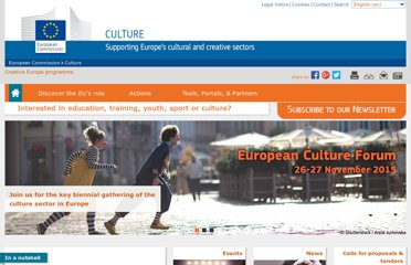 http://ec.europa.eu/culture/index_en.htm