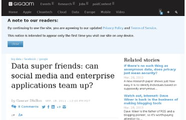 http://gigaom.com/2011/09/18/data-super-friends-can-social-media-and-enterprise-applications-team-up/