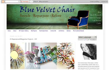 http://bluevelvetchair.blogspot.com/2011/07/25-repurposed-magazine-projects-diy.html