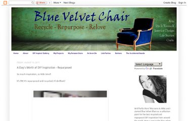 http://bluevelvetchair.blogspot.com/2011/08/days-worth-of-diy-inspiration.html