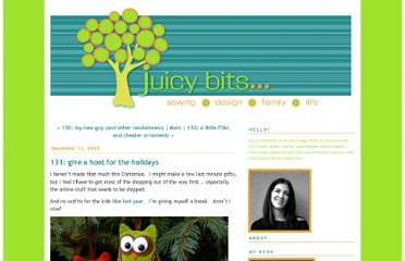 http://juicy-bits.typepad.com/juicy_bits/2009/12/131-give-a-hoot-for-the-holidays.html